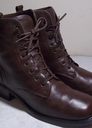 """Кожаные демисезонные ботинки """" santana"""" 39р  канада"""