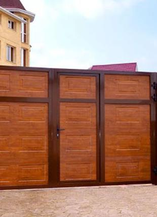 Гаражные, въездные, рулонные ворота. Роллеты. Автоматика.
