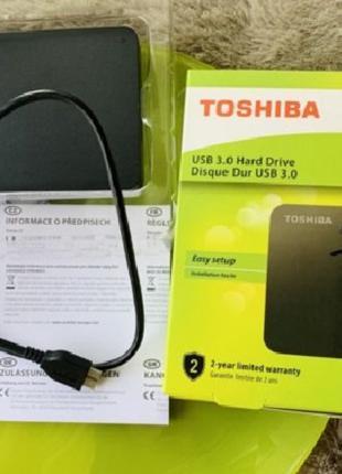 Внешний жесткий диск TOSHIBA - надежность по доступной стоимости