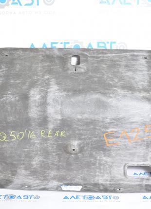 Обшивка крышки багажника Infiniti Q50 14-