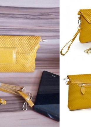 Маленькая сумка-клатч кистевой,женский,молодежный,компактный,в...