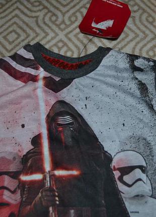Новая футболка мальчику star wars на 3-4 года рост 98-104 ориг...