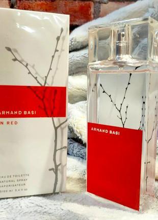 Armand Basi In Red _Оригинал EDТ_15 мл Затест_туал.вода