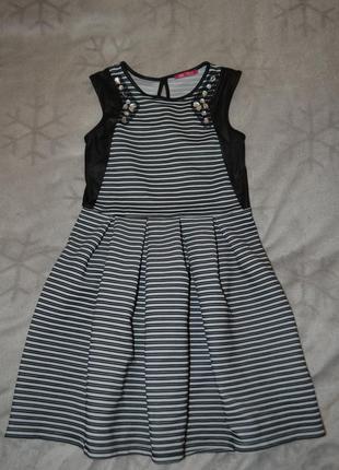 Красивое платье yd 10-11 лет рост 140-146 англия