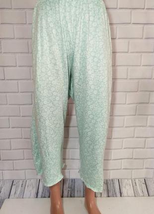 Короткие штаны для дома и сна мятного цвета, пижамные бриджи  ...