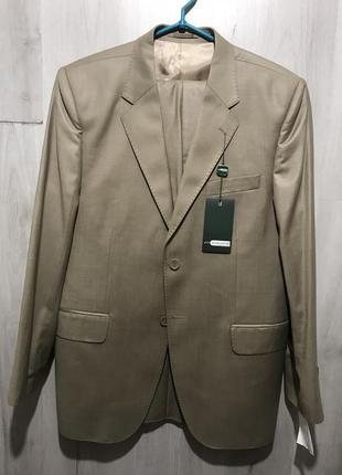Мужской классический костюм alligattor песочно-золотистый 074 ...