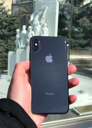 Apple IPhone X black 256Gb