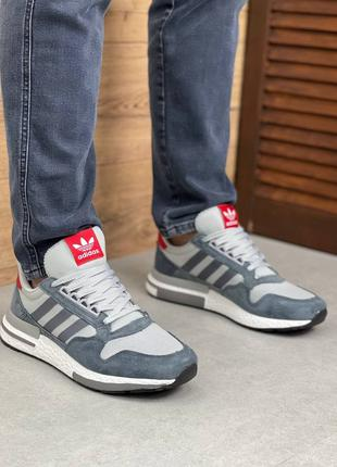 Мужские кроссовки в стиле Adidas ZX 500 RM(41-46р)