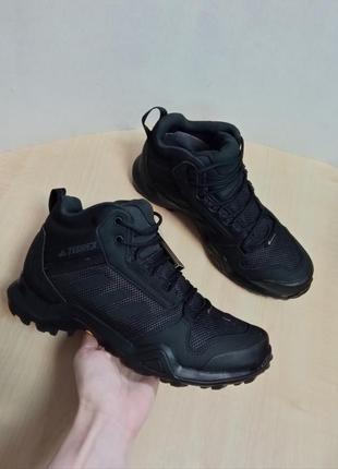 Мужские высокие кроссовки adidas terrex ax3 mid gtx bc0466 ори...