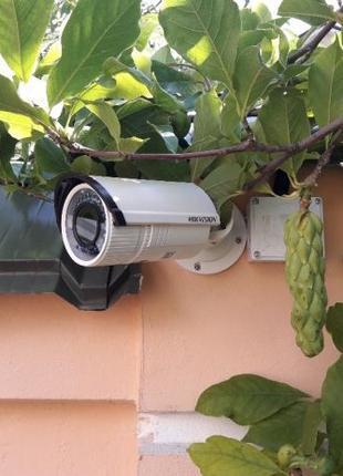 Установка камер видеонаблюдения, просмотр видео через телефон,...