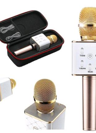 Микрофон Q-7 Wireless Gold. Цвет: золотой
