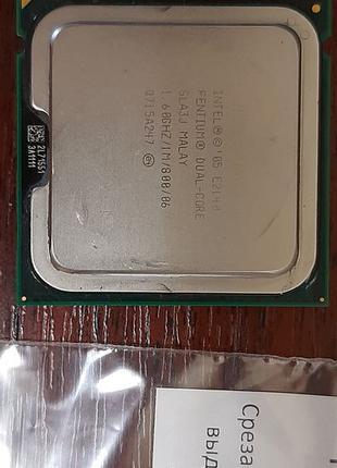 Intel pentium dual core lga775 1.6 1m 800fsb процессор двухяде...