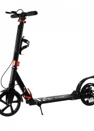 Самокат Scale Sports (ss-04) | Elite Plus | Pro | GMC - Черный