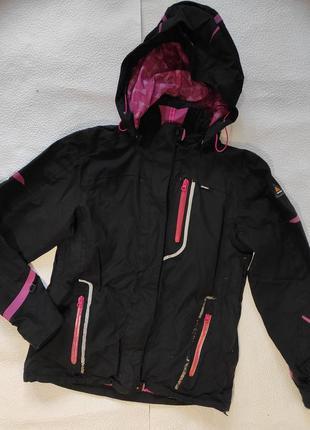 Спортивная, брендовая куртка с капюшоном