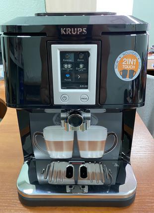 Кофемашина Krups EA8808 Новая, кофе и воды не видела!
