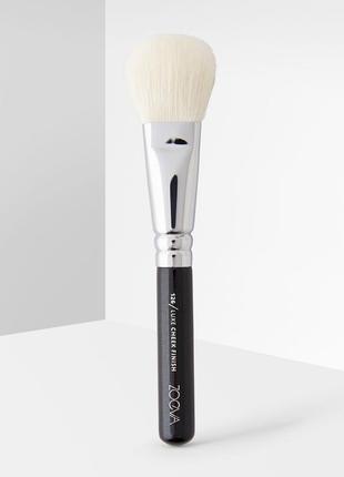 Кисть zoeva 126 - luxe cheek finish brush. оригинал