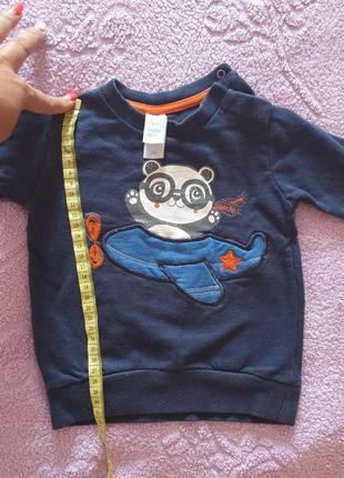 Кофта , свитер, реглан тепленький baby club   86