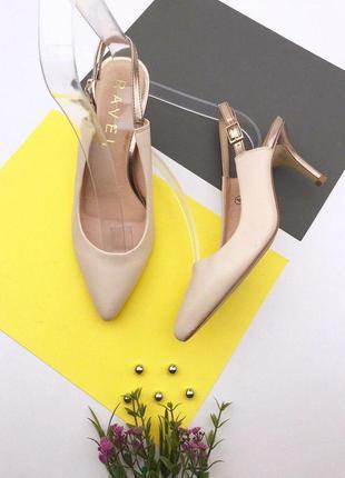 Женские туфли на шпильке ravel
