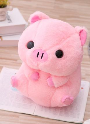 Плюшевая свинка/мягкая игрушка 40см