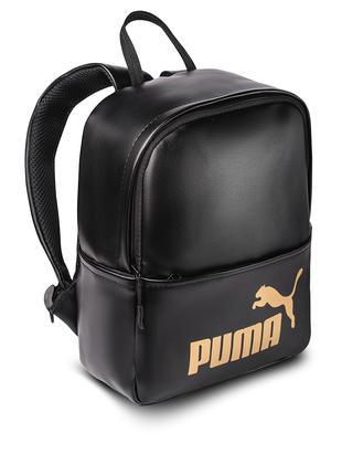 женский черный Рюкзак Puma кожзам