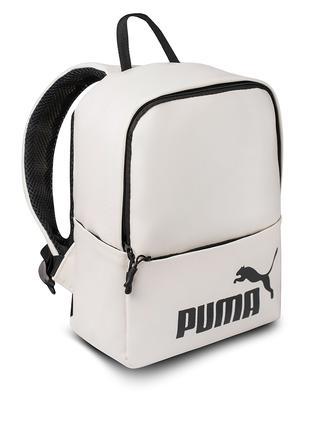 женский белый Рюкзак Puma кожзам