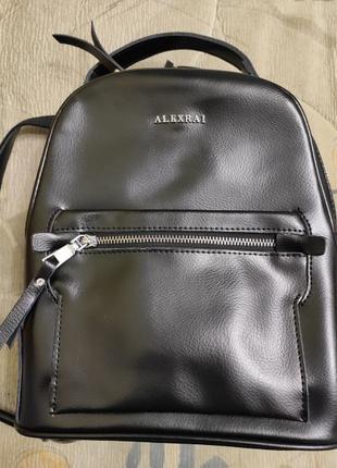 Сумку- рюкзак натуральная кожа