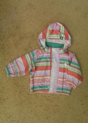 Куртка-дождевик для девочки