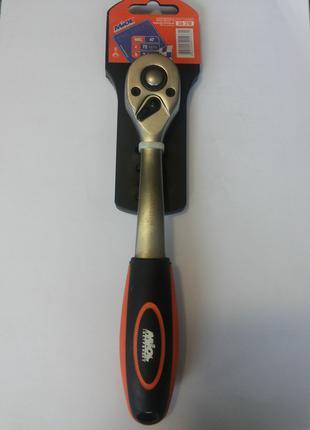 Ключ-трещотка Miol 72 зубца 3/8'' (58-210)