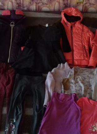 Пакет одежды девочке 8-10 лет,одяг дівчинці