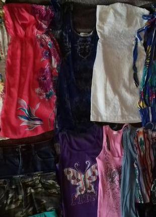 Пакет женской летней одежды,женские вещи,комплект літнього одягу