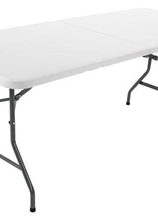 Прочный качественный раскладной складной стол столик 75х180 h74