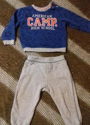 Спортивный костюм на 1-2 года, костюмчик,спортивний костюм, ко...