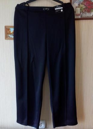 Классические черные брюки очень большого размера, баталы