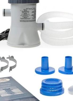 Картриджный насос фильтр Bestway для каркасный надувной бассейн