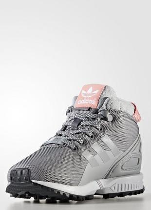 Детские  ботинки adidas originals zx flux 5/8 trail (артикул: ...
