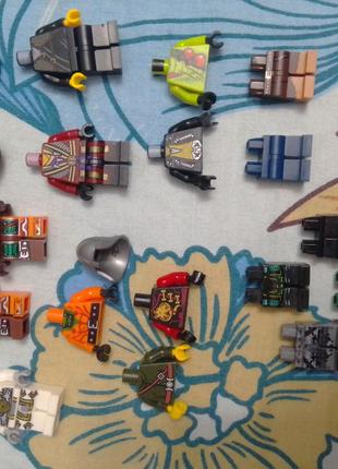 Лего детали костюмы