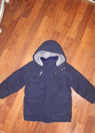 Куртка еврозима термо chicco 104-