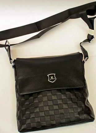 Сумка, барсетка, натуральная кожа, сумка на плечо, кожаная сумка