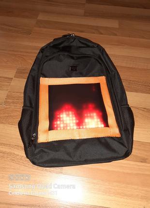 Школьный led рюкзак с wifi управлением