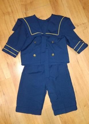 Карнавальный костюм морячок утренник хэллоуин на 1-2 годика