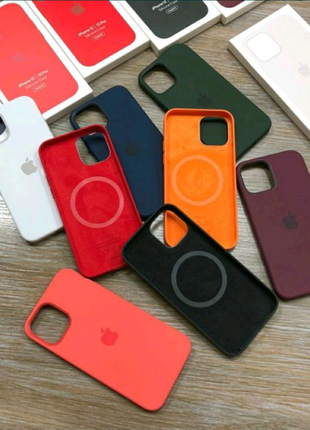 Чехол MagSafe Silicone Case Iphone Full Size 12 pro max