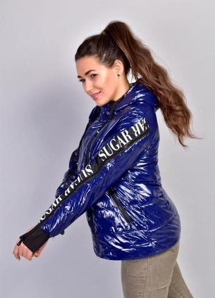 Стильная женская куртка деми