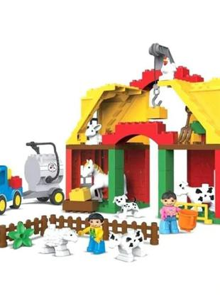 Конструктор лего Веселая ферма Happy Farm, 65 крупных дет