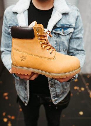Хайповые ботинки тимберленд