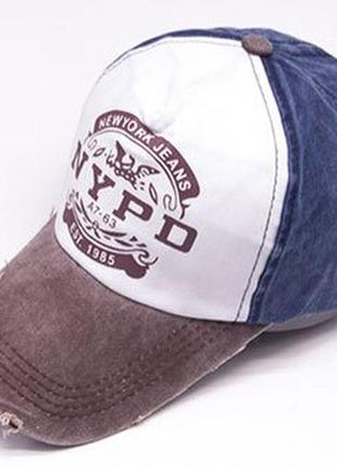 13-213 бейсболка newyork jeans кепка панамка шапка