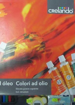 Краски масляные Crelando