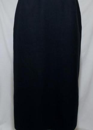 Юбка-карандаш черная текстурная бренд *windsmoor* 44-46р