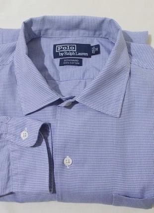 Новая рубашка в мелкий принт *polo by ralph lauren* 48-52р