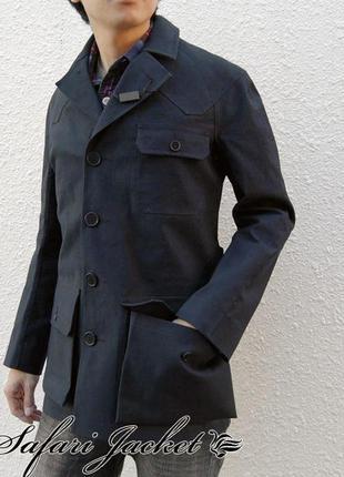 Новая куртка серая шерсть габардин люкс бренд *mackintosh* 'sa...