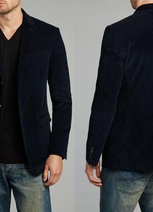 Новая куртка пиджак плотный вельвет *polo by ralph lauren* 52-54р